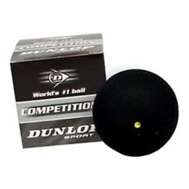 Dunlop Yellow Dot Squash Ball