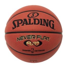 Spalding NBA NeverFlat Size 7 Composite Leather Basketball