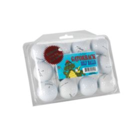 Gatorback Pro Recycled Golf Balls - 12 Pack