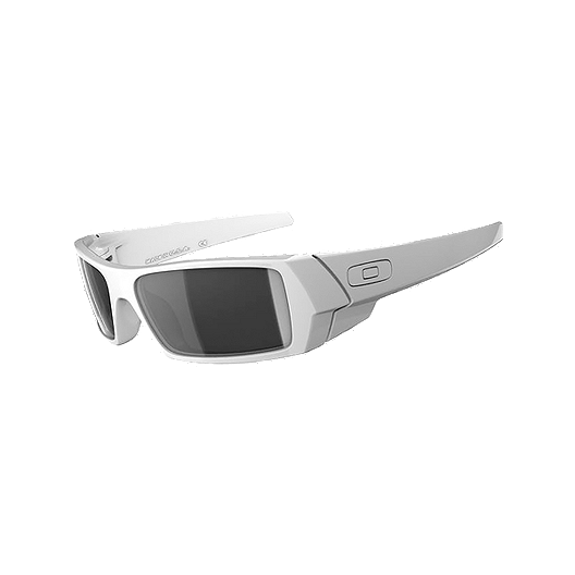 a02b199132a39 Oakley Gascan Sunglasses- Polished White with Black Iridium Lenses ...