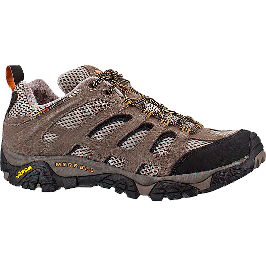 factory price 31158 5178c Merrell Mens Moab Vent 2E Wide Hiking Shoes - Walnut  Sport