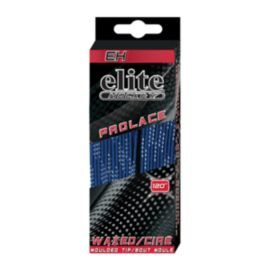 Elite Hockey® Waxed Skate Laces - Royal / Black 84 in.