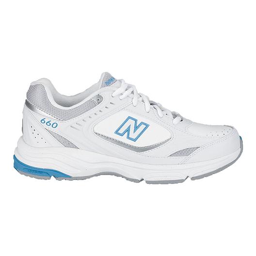 06146a66b3a09 New Balance Women s 660 B Width Walking Shoes - White
