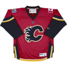 Calgary Flames Baby Replica Home Hockey Jersey