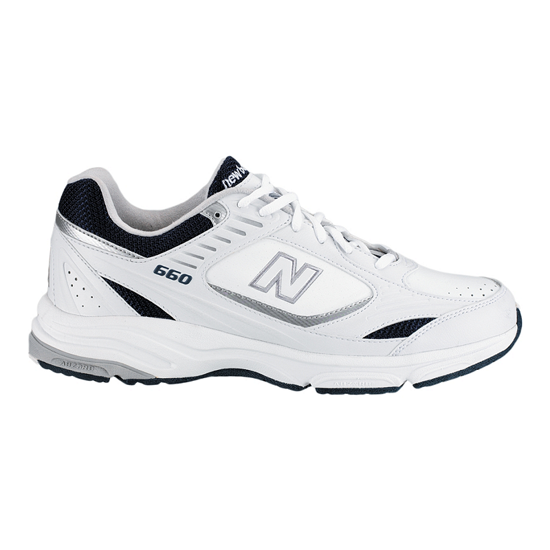 085acfe664084 New Balance Men s 660 2E Wide Width Walking Shoes - White