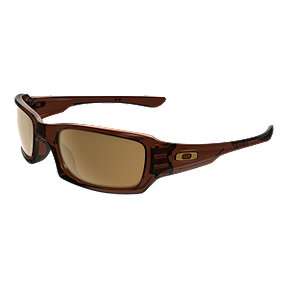 Oakley Fives Squared Sunglasses- Rootbeer/Dark Bronze