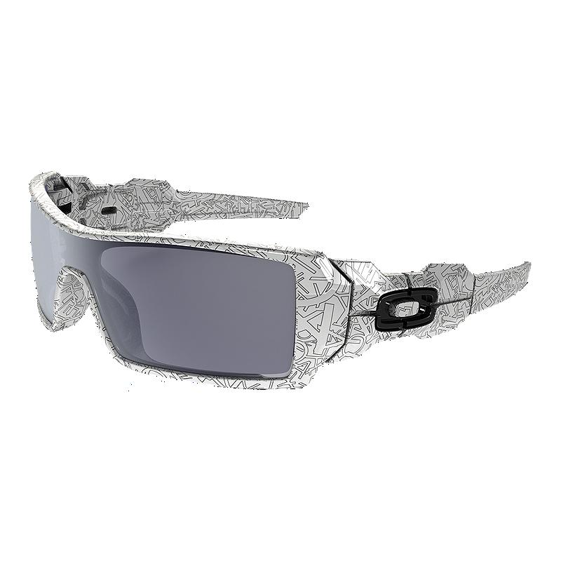 Oakley Oil Rig Sunglasses- White  8b8ae41a38