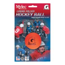 Sidelines Mylec® Liquid Filled G Force® Street Hockey Warm Weather Ball