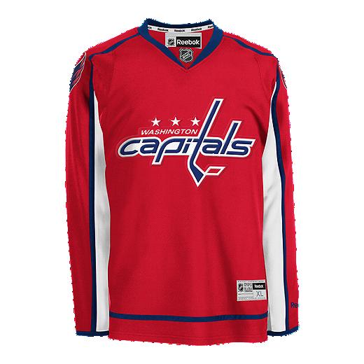 dc35a2ac8 Washington Capitals Premier Home Hockey Jersey | Sport Chek