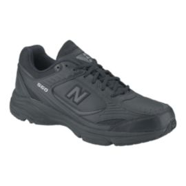 New Balance Men's 660 2E Wide Width Walking Shoes - Black