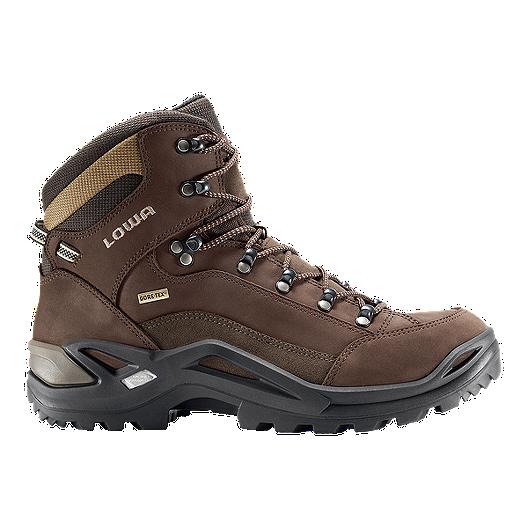 29e234784c8 Lowa Renegade Mid GTX Men's Hiking Shoes - Dark Brown | Sport Chek