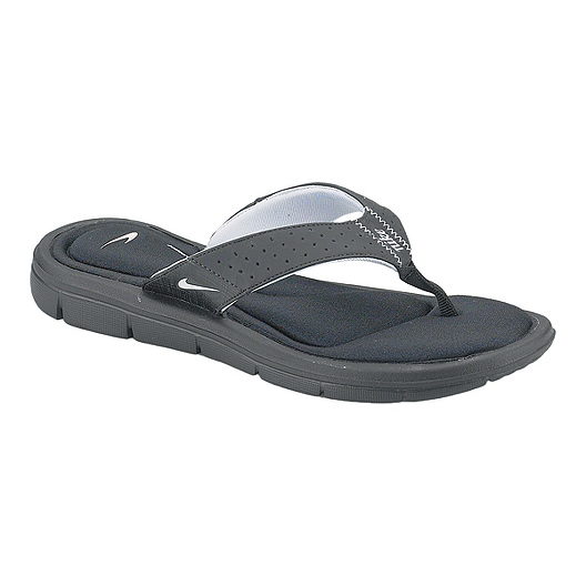 460f63f1cc30 Nike Women s Comfort Thong Sandals - Black White