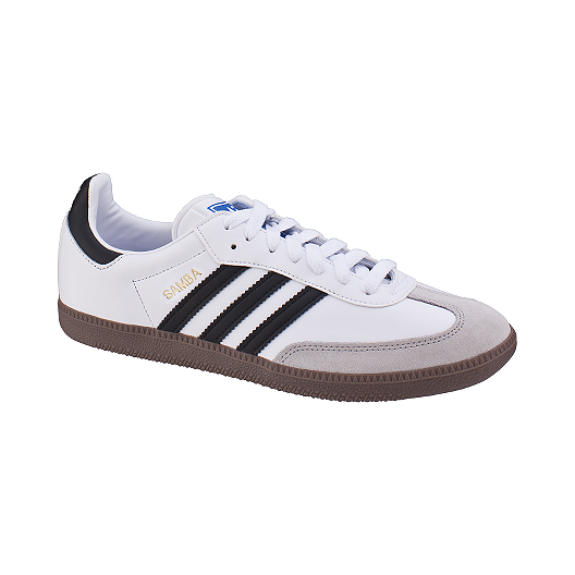da2e224a42 adidas Men s Samba Shoes - White Black