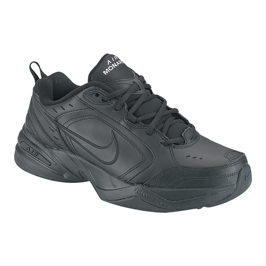 b3d056ae24f9 Nike Men s Air Monarch IV 2E Wide Width Shoes - Black