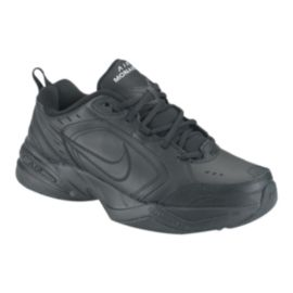 Nike Men's Air Monarch IV 2E Wide Width Shoes - Black