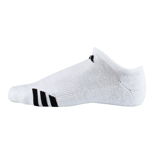 674397bf3 adidas 3 Stripe Men's No Show Socks - 3 Pair Pack | Sport Chek