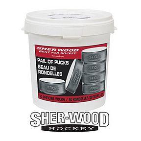 39623189ee3 Sher-Wood Pail of Pucks