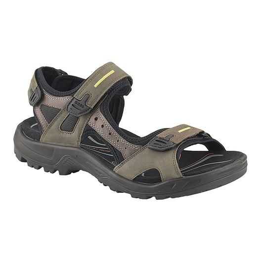 9b4b0de40bd Ecco Men s Yucatan Sandals - Tarmac Moon Rock