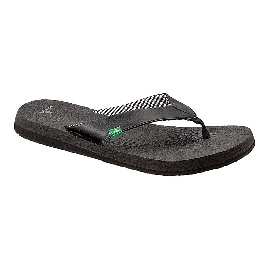 4549bf8e5 Sanuk Women s Yoga Mat Sandals - Ebony