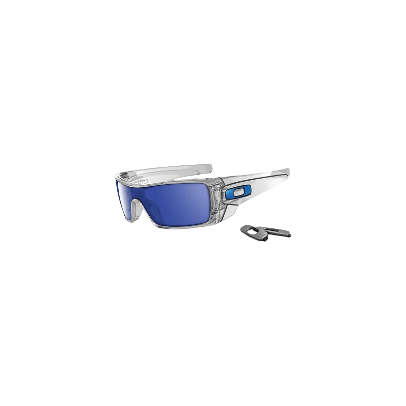 ad550a8c49 Oakley Batwolf Polished Clear W  Ice Iridium