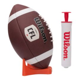 Wilson CFL Replica Football With Pump And Tee