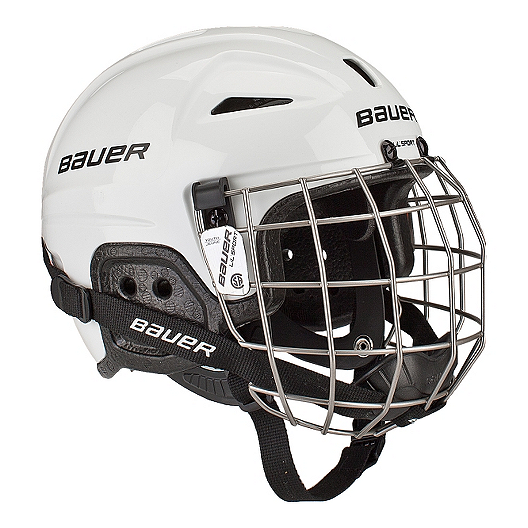 c8139416fb4 Bauer Lil Sport Youth Hockey Helmet Combo