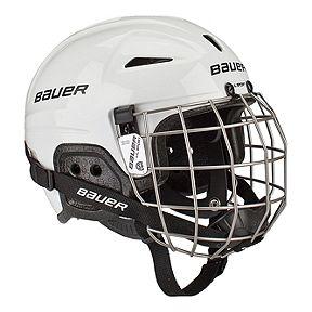1e2f111d94e Bauer Lil Sport Youth Hockey Helmet Combo