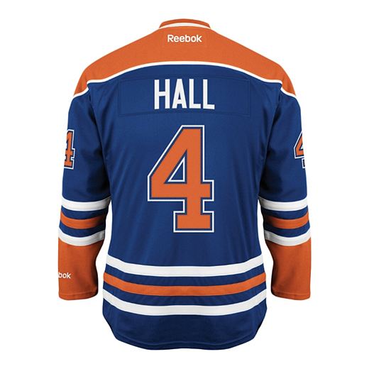 buy popular 7c0bd 28d8c Reebok Edmonton Oilers Pro Twill Hockey Jersey Hall