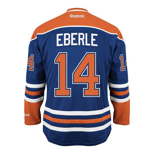 529bb49deab Reebok Edmonton Oilers Pro Twill Hockey Jersey Jordan Eberle | Sport Chek