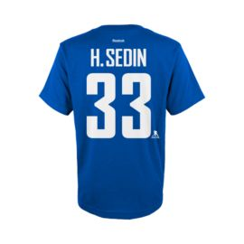 Vancouver Canucks Youth Henrik Sedin Player Tee