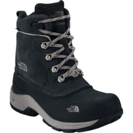 The North Face Kids' Chilkats Lace Winter Boots - Black/Zinc Grey
