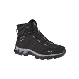 Salomon Men's Elbrus Waterproof Winter Boots - Black