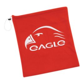 Eagle Fleece Helmet Bag - Red