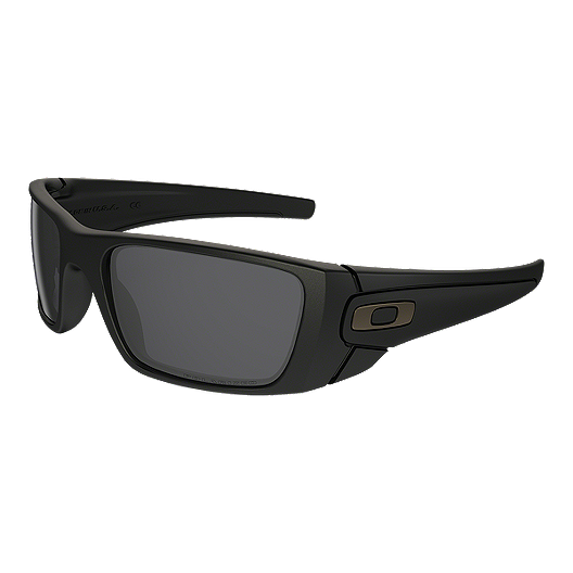 c9761ba2d8b74 Oakley Fuel Cell Sunglasses- Matte Black with Grey Polarized Lenses ...