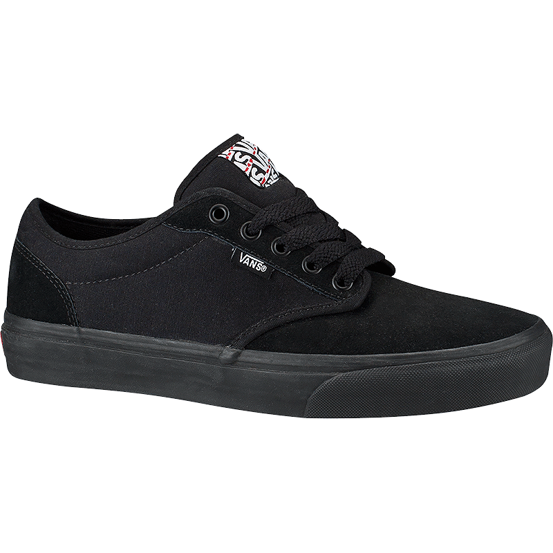 36acd99207499a Vans Men s Atwood Skate Shoes - Black