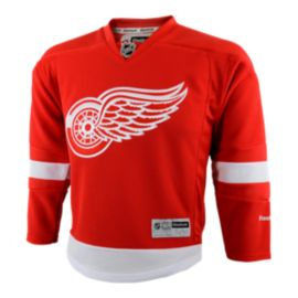 Detroit Red Wings Kids' Premier Home Hockey Jersey