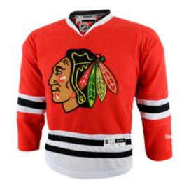 Chicago Blackhawks Kids' Premier Home Hockey Jersey