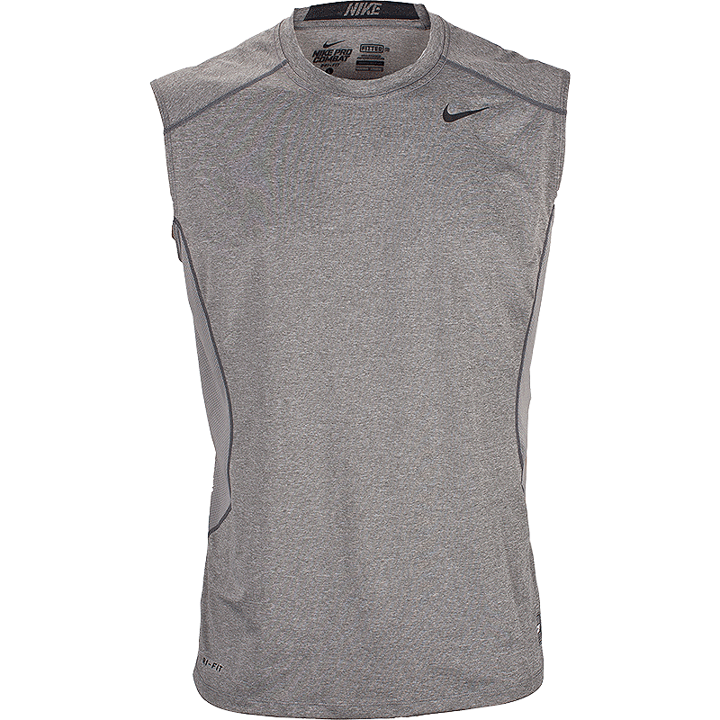 3f604be14c8c7 Nike Pro Combat Core Men s Fitted Sleeveless Top