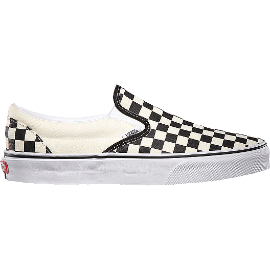 1bc6df8b12 Vans Men s Classic Slip-On Checkerboard Shoes - Black White