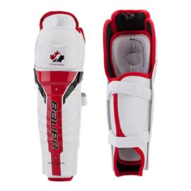 Bauer Team Canada Youth Shin Guards 2012