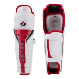 Bauer Team Canada Junior Shin Guards 2012