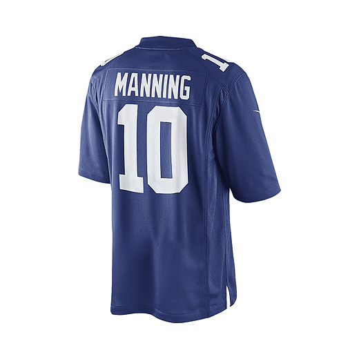 buy online 792db 8425f New York Giants Eli Manning Men's Limited Blue Jersey