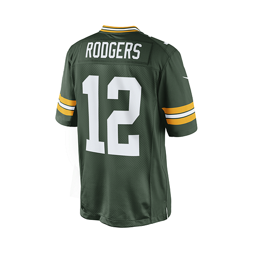 timeless design cb2e6 fcc2a Green Bay Packers Aaron Rodgers Green Football Jersey