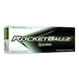 Prior Generation TaylorMade RocketBallz Golf Balls - 12 Pack