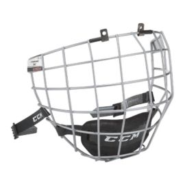 CCM 580 Silver Face Mask