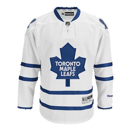 9b785aa9 Toronto Maple Leafs Kids' Premier Away Hockey Jersey   Sport Chek
