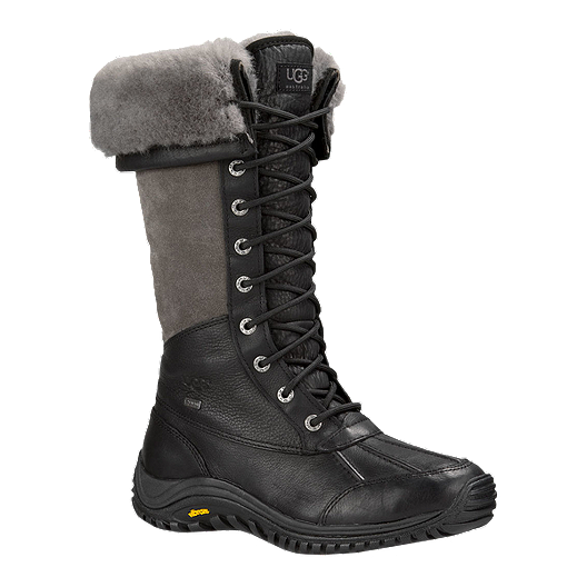 2a975e9c611 UGG Women's Adirondack Tall Winter Boots - Black | Sport Chek