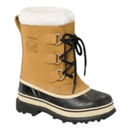 Sorel Caribou Buff Winter Boots Kids