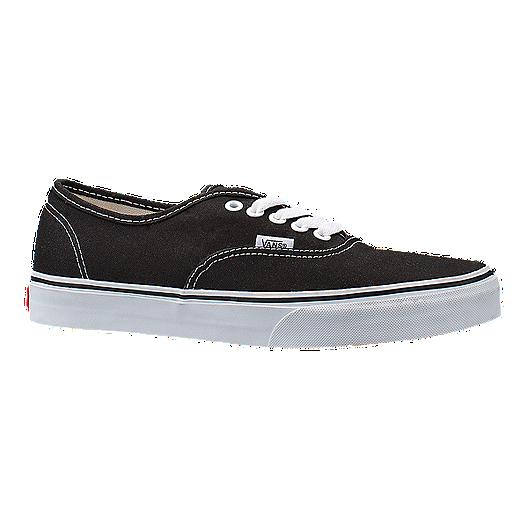 b2fbb0677d Vans Classic Authentic Shoes - Black White