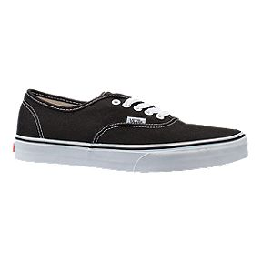 Vans Classic Authentic Shoes - Black White 34e89b27c